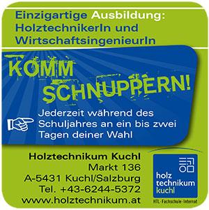Holztechnikum Kuchl | INTERNATIONALER-HOLZMARKT | Anbieterindex (c) Holztechnikum Kuchl