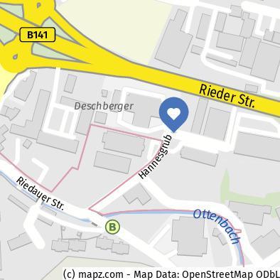 Merlin Technology Standort | 4911-Tumeltsham | IHM | (c) Mapz