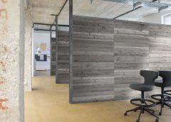 Ideal für akustisch sensible Räume in Gastronomie, Hotellerie, Büro und vielen anderen Raumnutzungen. Foto: Altholz Trikustik