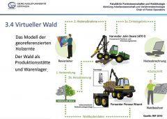 Virtueller Wald Modell | Dirk Jaeger | IHM | (c) RIF 2010
