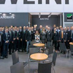 Gut aufgestellt für die Zukunft: Das Weinig Team Russland auf der Lesdrevmash