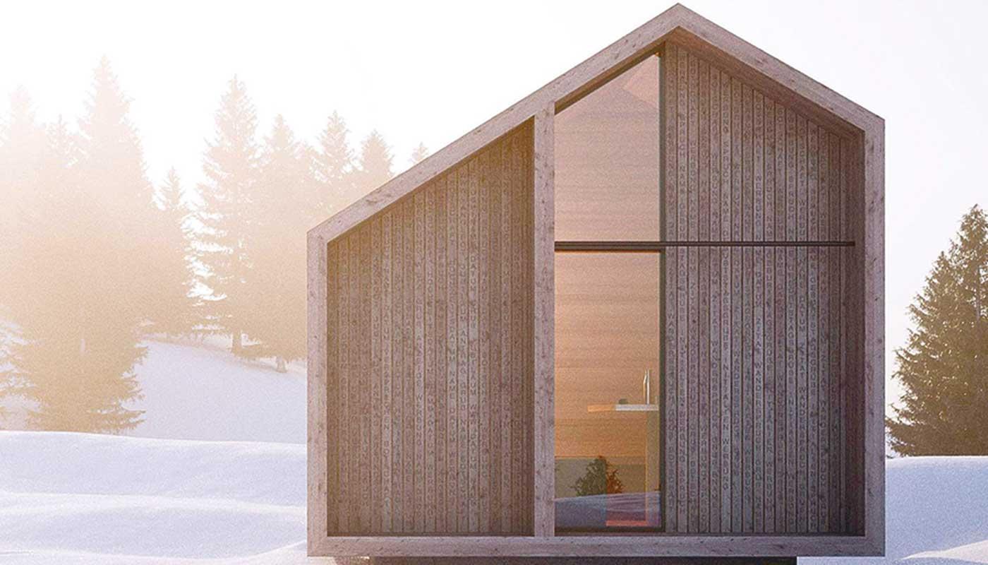 Oberschlupf auf der Raxhütte | (c) Meiberger Holzbau