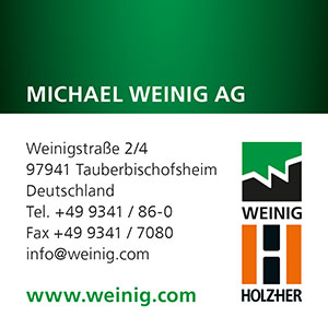 WEINIG | INTERNATIONALER-HOLZMARKT | Anbieter-Index (c) WEINIG