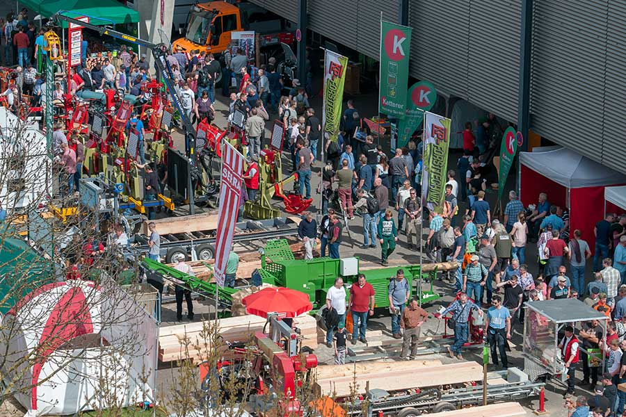 Forst Live Messe 2019 | Internationaler Holzmarkt | (c) Forst Live