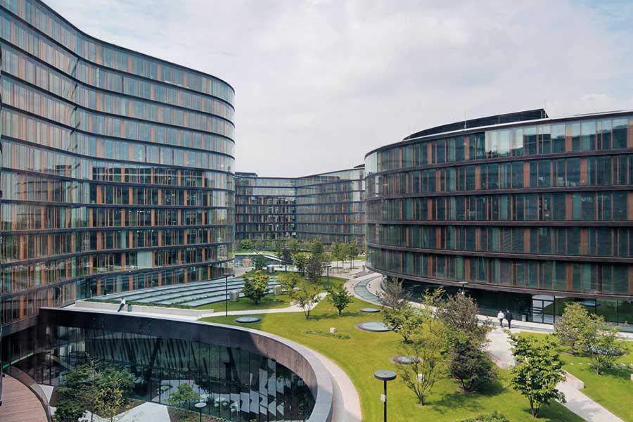 Glas schützt Holz © Henke Schreieck Architekten, Wien