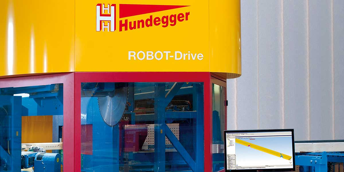 Abbundmaschinen_ROBOT-Drive | Hundegger (c) Hundegger