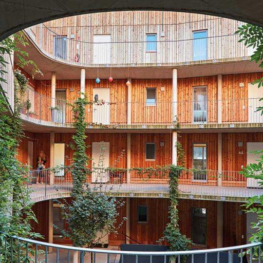 2: Holzbaupreis für Mehrgeschossige Wohnbauten: Max Mell Allee