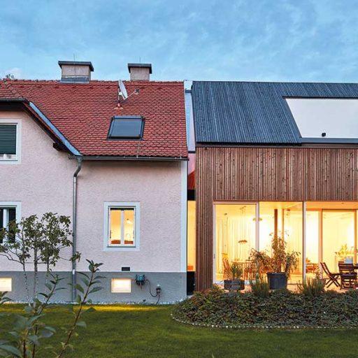 4: Holzbaupreis für Zu- und Umbauten: Haus H