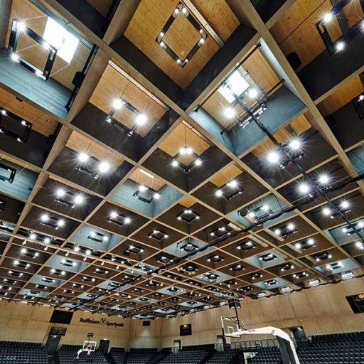 7: Holzbaupreis für Konstruktiven Holzbau: Sportpark Graz