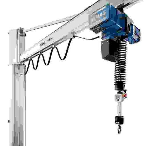 Demag Kettenzug DCBS mit Balancer-Funktion zum hoch präzisen Lastenhandling. Fotos: Demag