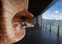 Tverrfjellhytta - Pavillon zur Rentierbeobachtung in Norwegen © Ketil Jacobsen