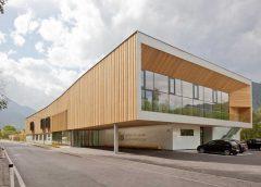 Die allgemeine Sonderschule in St. Johann im Pongau. Foto: Andrew Phelps_sps architekten zt gmbh
